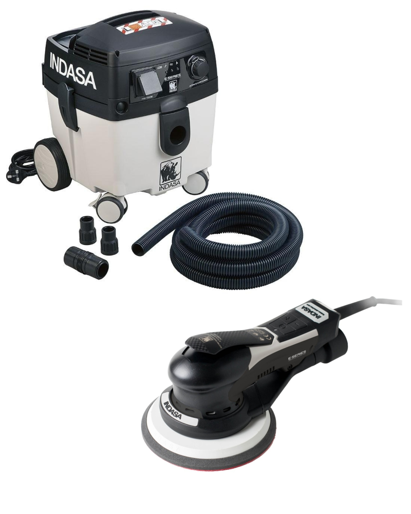 Indasa Electric Sander & Dust Extraction Unit Complete Kit